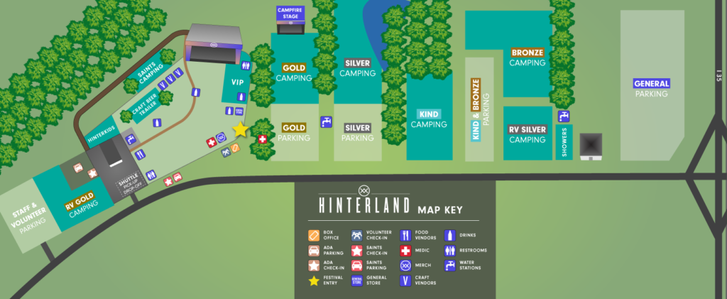 Hinterland Grounds Map