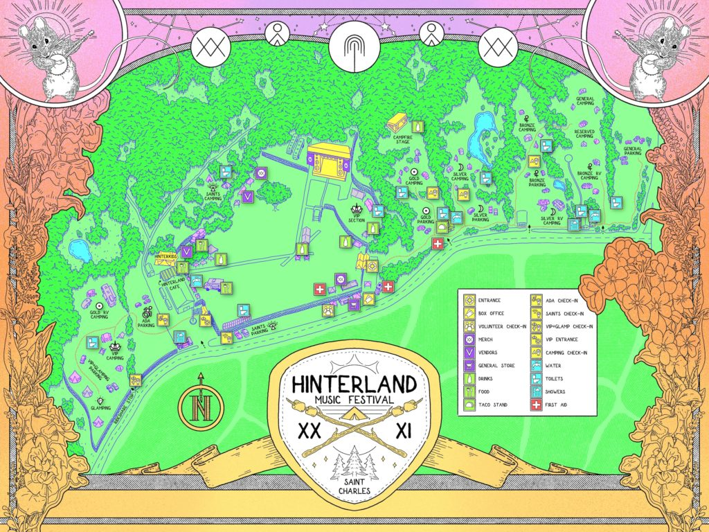 Festival Grounds Map