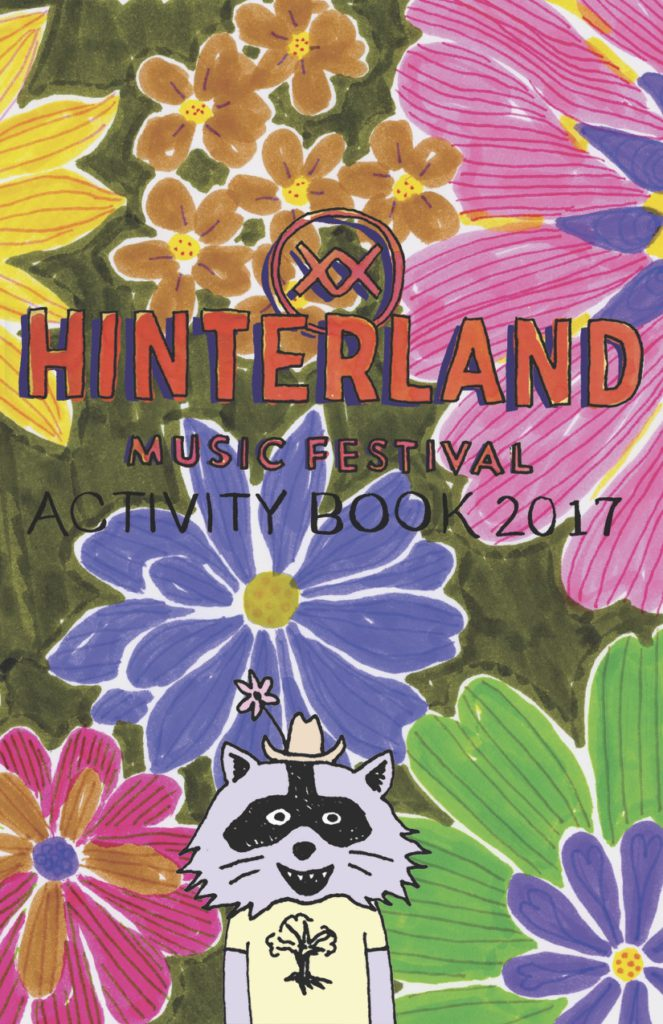 Hinterkids activity book cover
