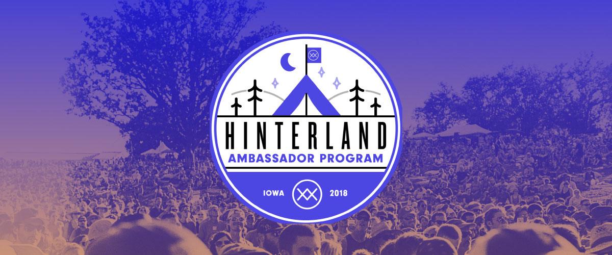 Hinterland ambassador program